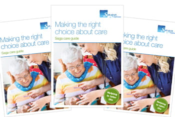 Free Saga care Guide to Homecare service