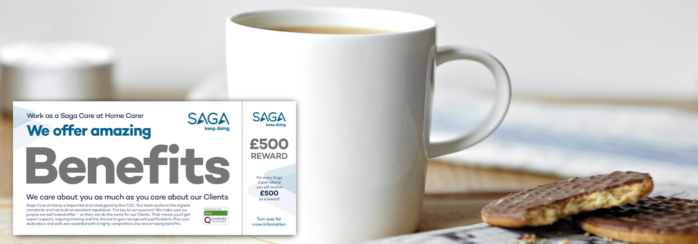 Saga Healthcare Refer a Friend