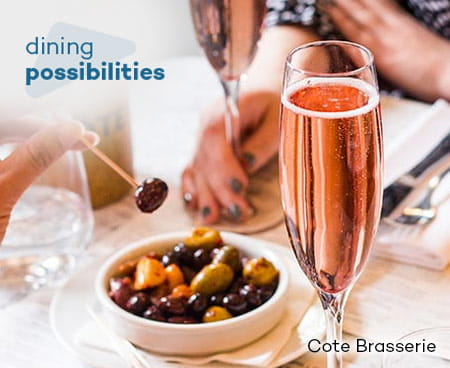 Dining Possibilities Cote Brasserie.