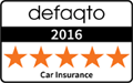 Saga Car Insurance Defaqto 5 Star Award