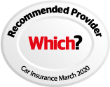Recommended provider Which? Car Insurance March 2020