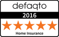 Home Insurance Defaqto 2016