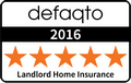 Landlord Home Insurance Defaqto Logo 2016