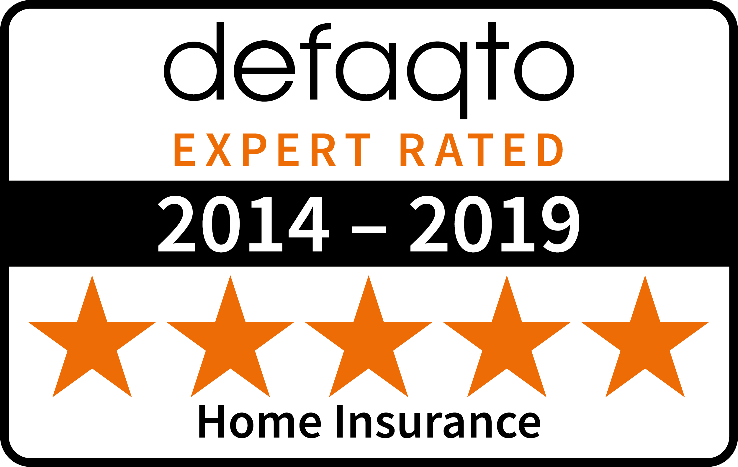 Home car multi year Defaqto logo 2019