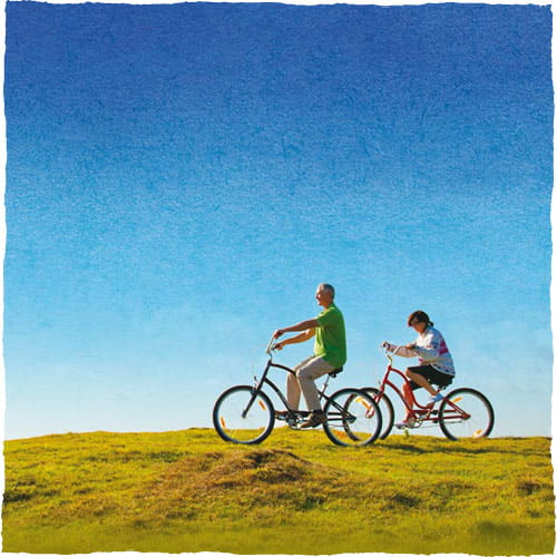Riding bikes, Health Insurance underwriting methods.