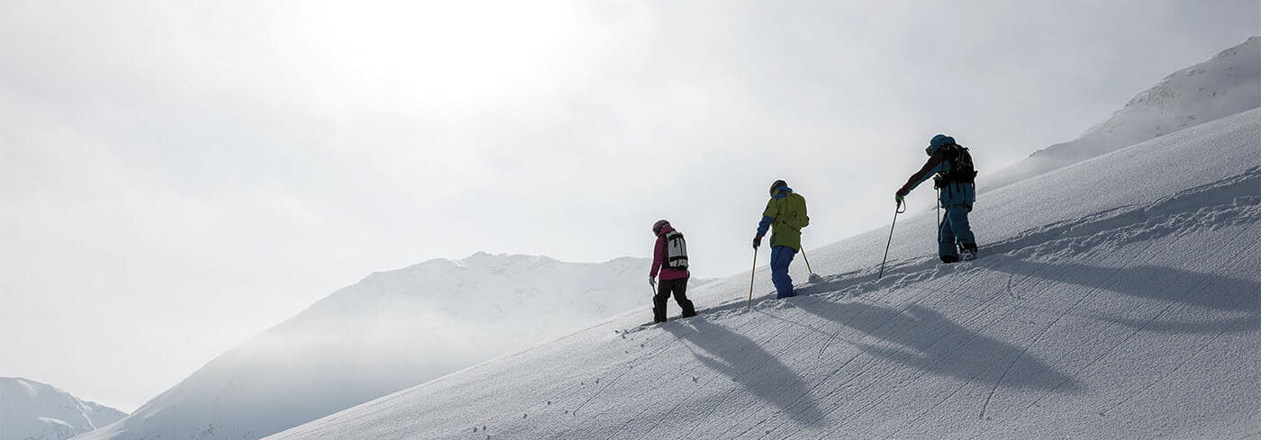 People Skiing in Switzerland