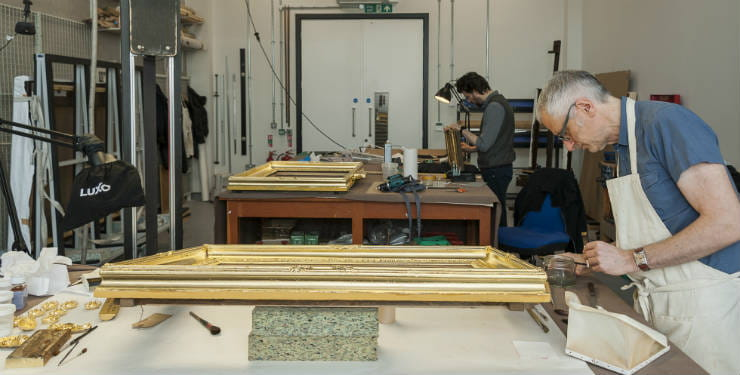 Behind the scenes at Royal Museums Greenwich