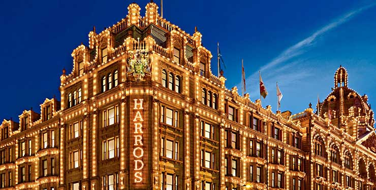 Harrods personal shopping experience