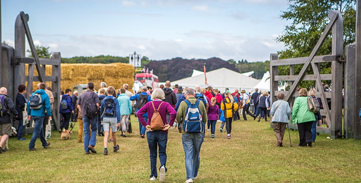 BBC Countryfile Live crowd