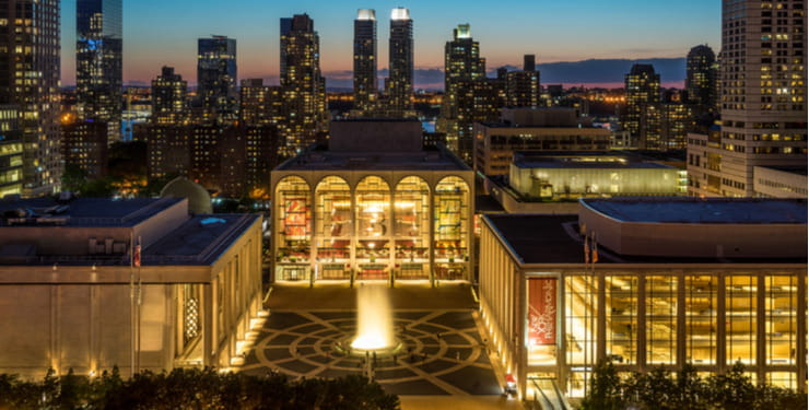 The Lincoln Center in New York