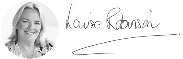 Louise Robinson's photo and signature