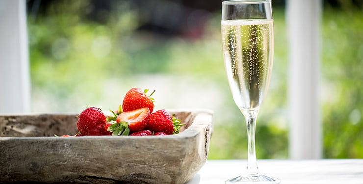 Blenheim Palace Free Prosecco offer