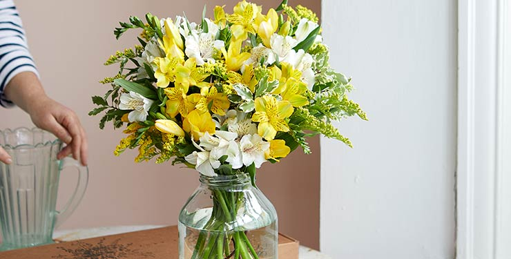 Bloom & Wild flowers in a vase