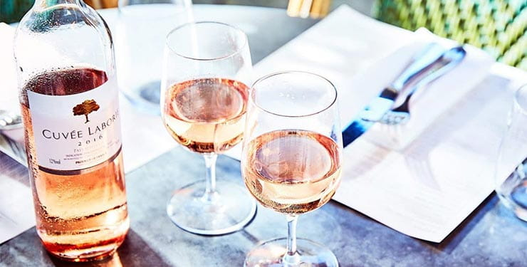Cote Brasserie Rose Wine Offer
