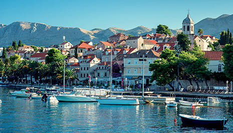 Port of Cavtat, Croatia