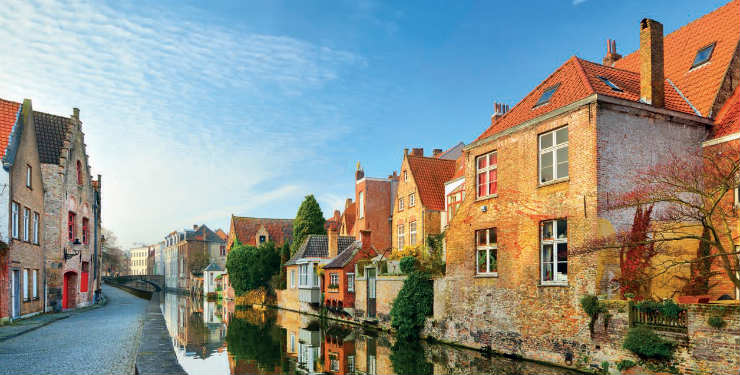 Dutch Waterways with Bruges