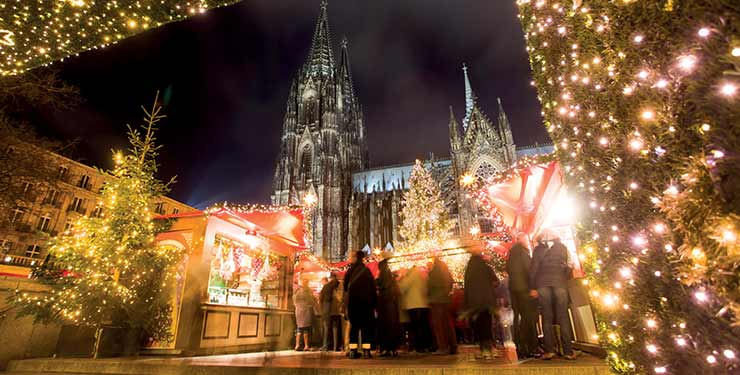 Traditional Christmas Markets on the Rhine