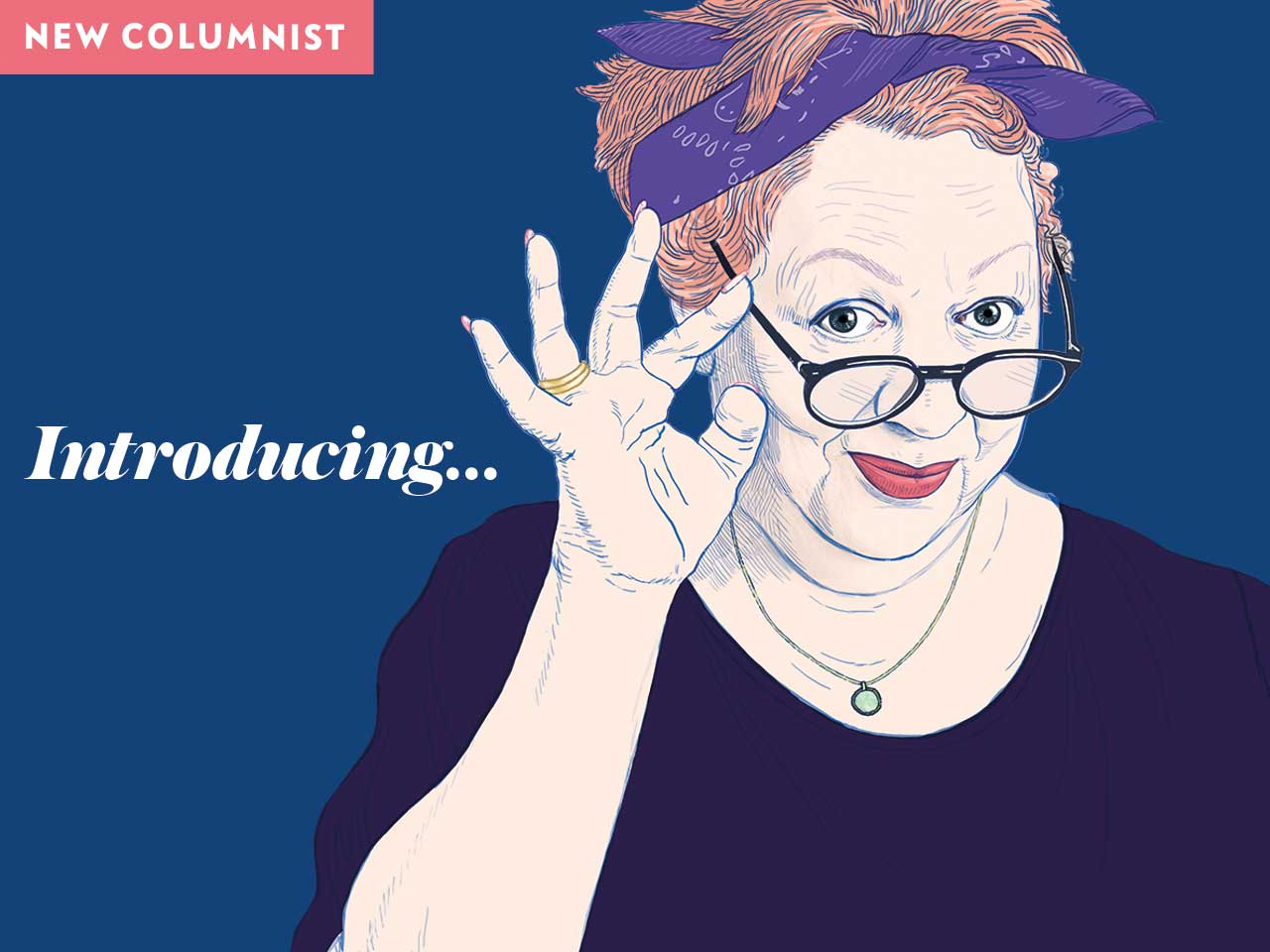 New Saga Magazine columnist Jo Brand