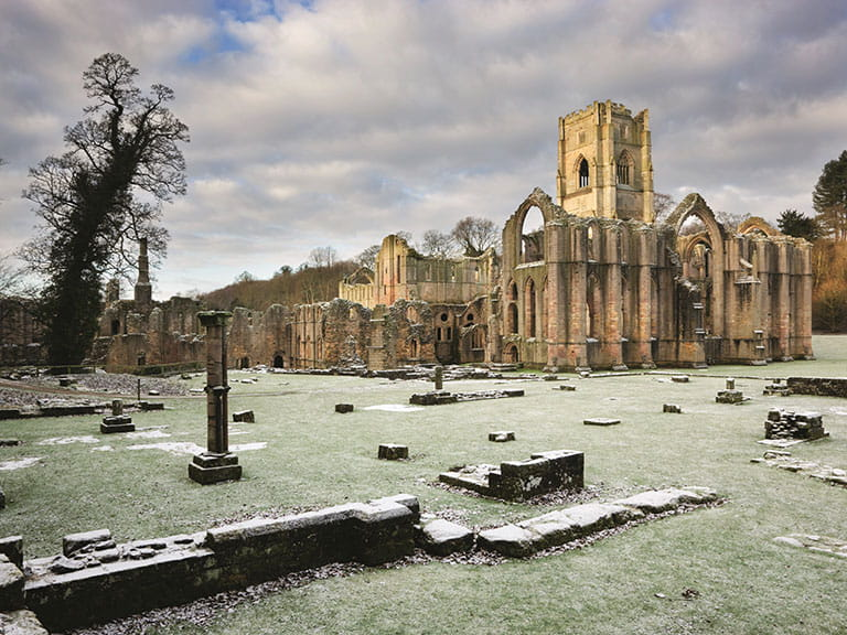 Fountains Abbey, North Yorkshire | Image credit to NTI Andrew Butler