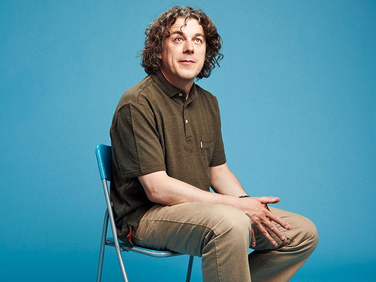 QI star Alan Davies