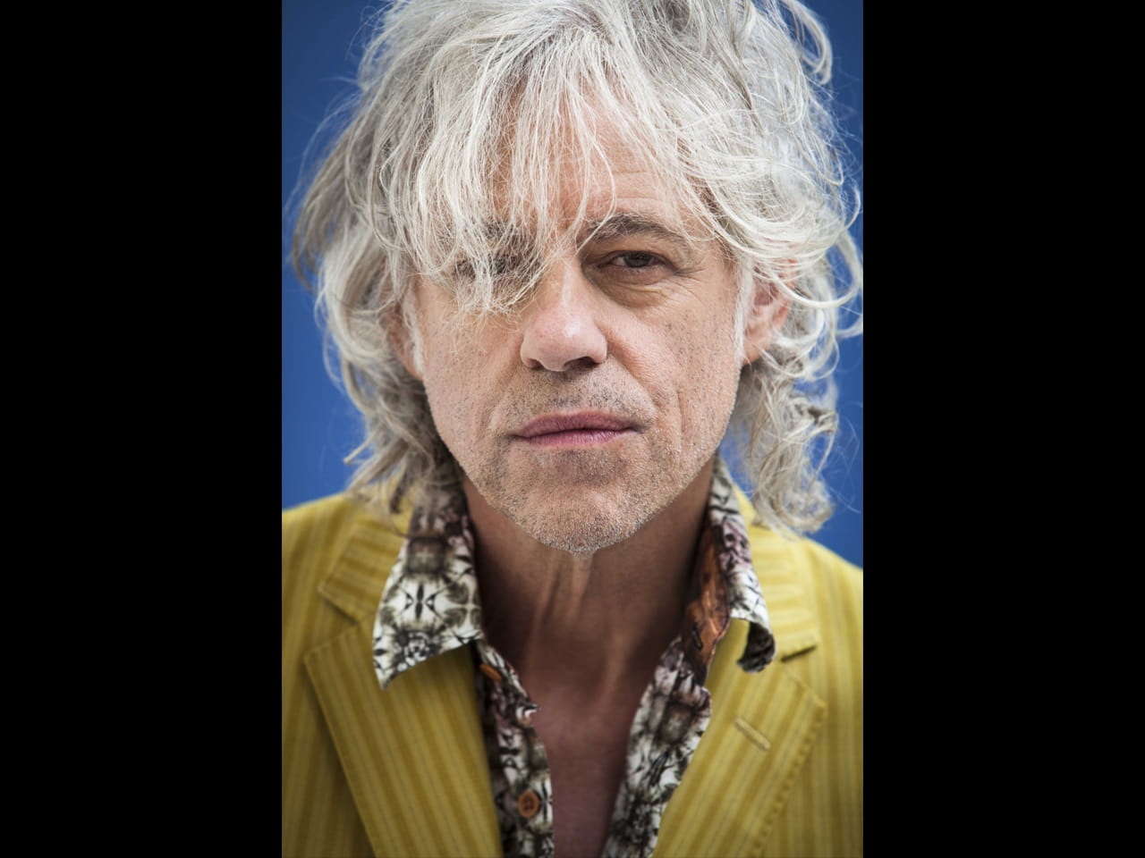 Bob Geldof photographed for Saga Magazine by © Andrew Hayes-Watkins