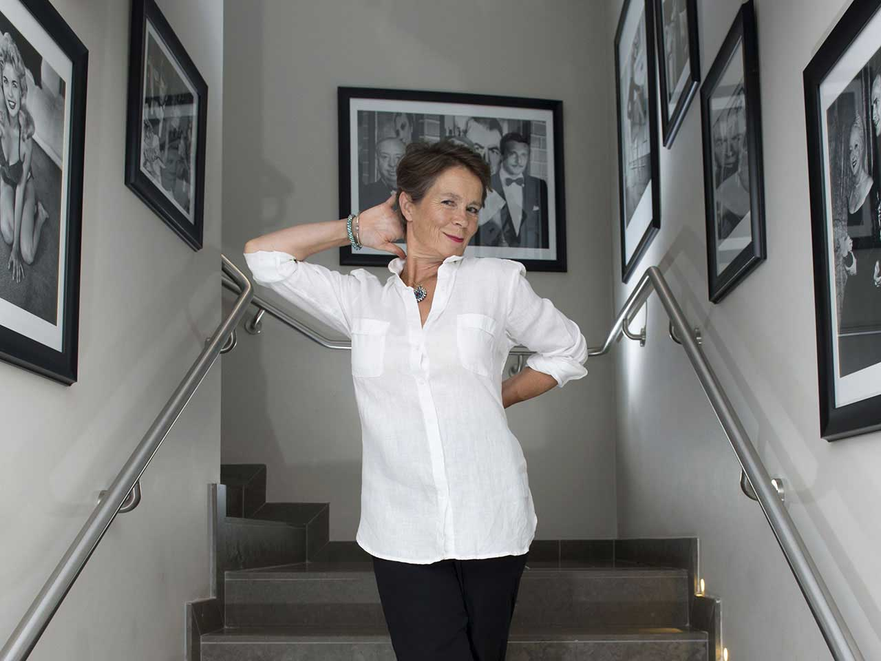 Celia Imrie at St James Theatre