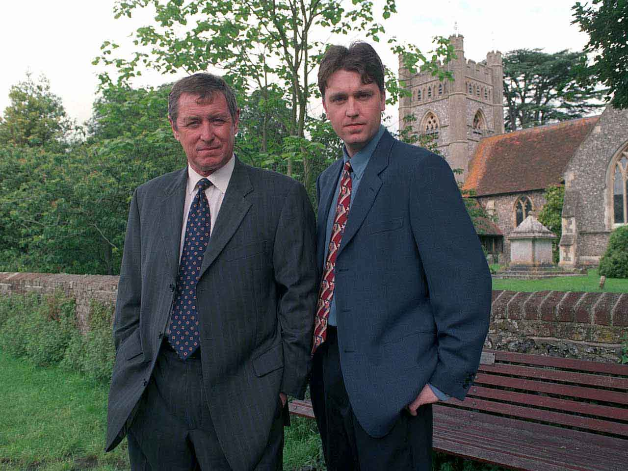 Daniel Casey (right) with John Nettles in Midsomer Murders