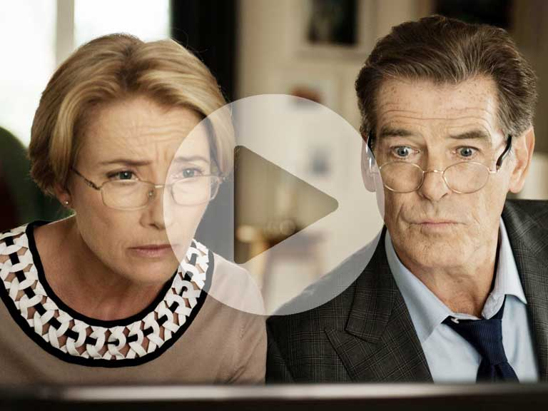Love Punch with Emma Thompson and Pierce Brosnan