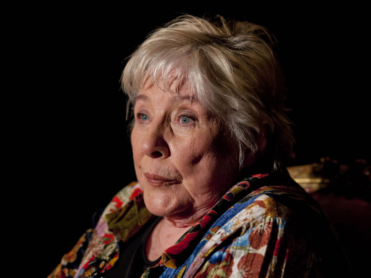 Novelist Fay Weldon. Photo by REX Shutterstock