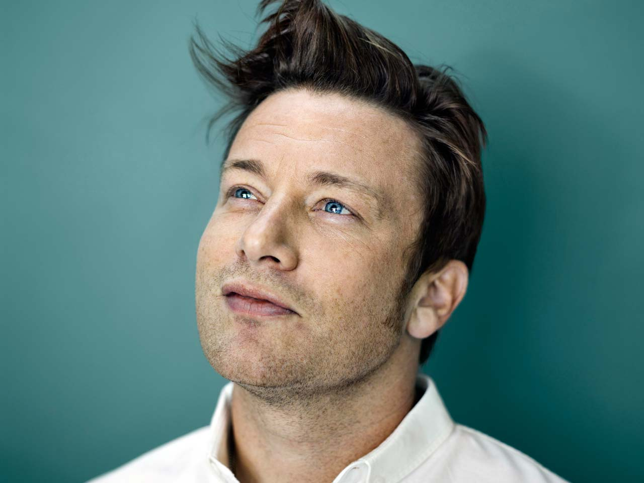 Jamie Oliver photographed by Paul Stuart