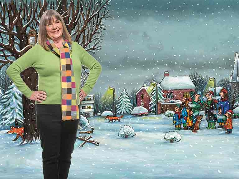 Children's author Julia Donaldson. Photo by Lydia Evans