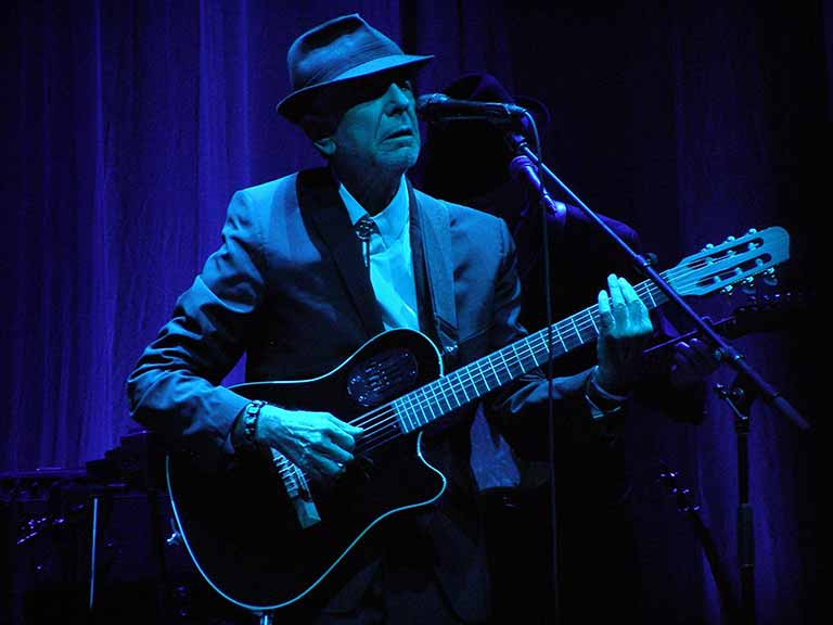The legendary Leonard Cohen live on stage © Route66 / Shutterstock.com