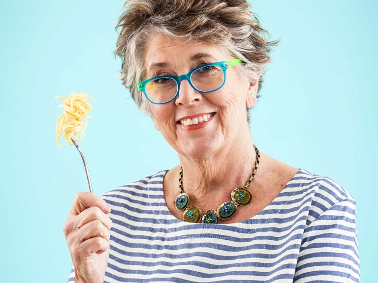 Prue Leith, new judge on TV's Great British Bake Off