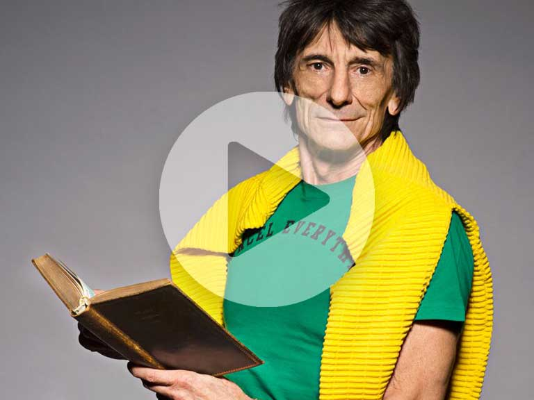 Ronnie Wood talks exclusively to Saga Magazine