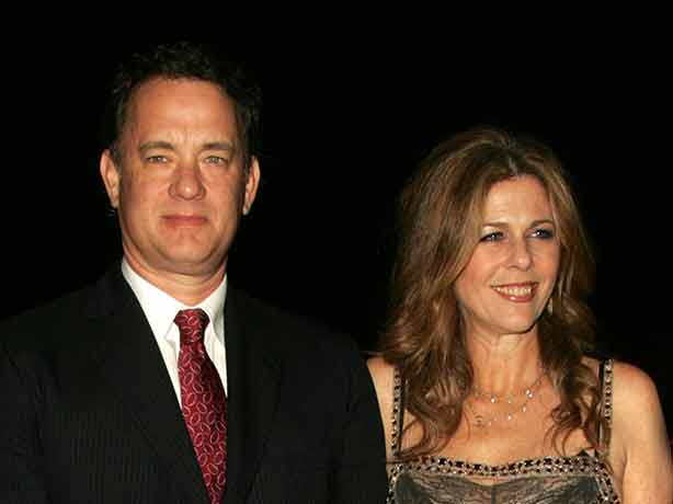 Tom Hanks with his wife, Rita Wilson in 2006  © s_bukley / Shutterstock.com