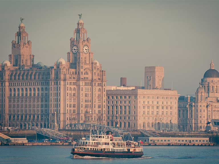 Mersey Ferry, Liverpool