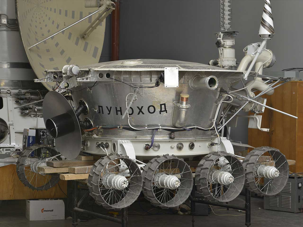 Lunokhod-2 lunar roving vehicle