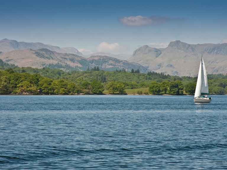 Lake Windermere - setting for Swallows and Amazons, 2016 top film locations to visit