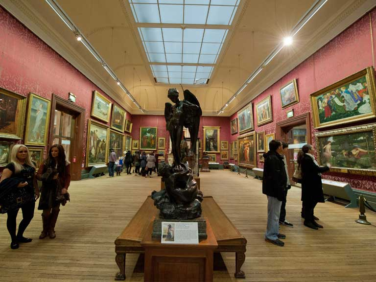 Inside the Walker Art Gallery