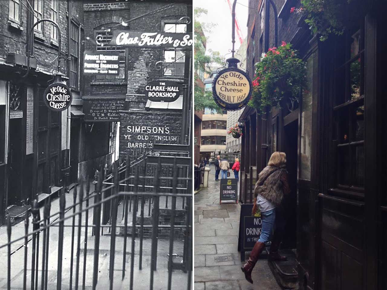 Ye Olde Cheshire Cheese, Fleet Street, London