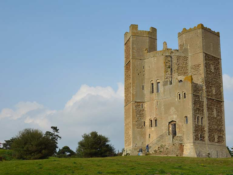 Orford Castle, Woodbridge, Suffolk