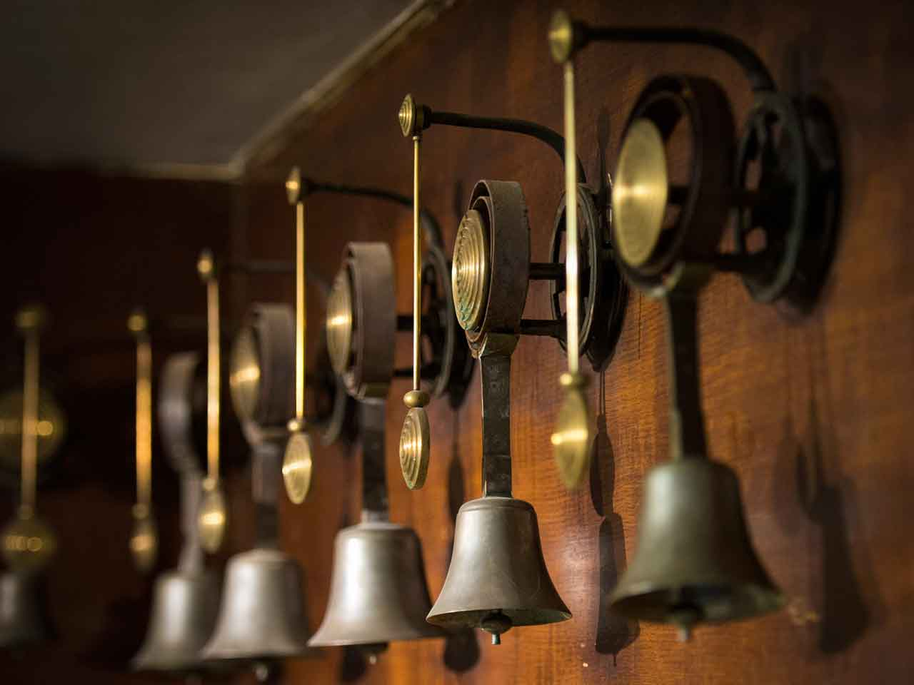 Blenheim Palace, private rooms - bell system