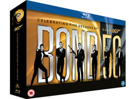 Bond 50 is out now on Blu-ray and DVD