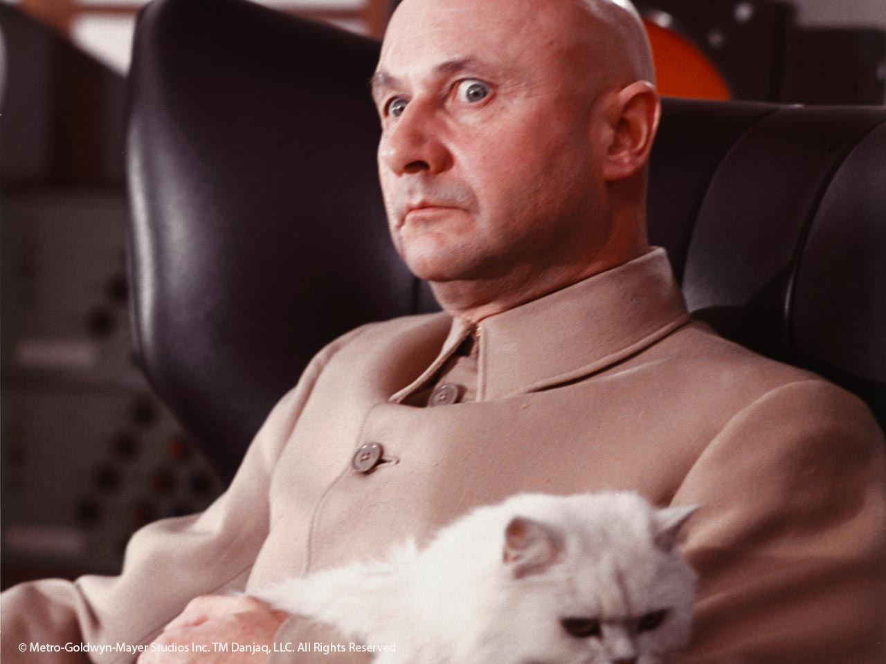 Bond villain Ernst Stavro Blofeld in You Only Live Twice