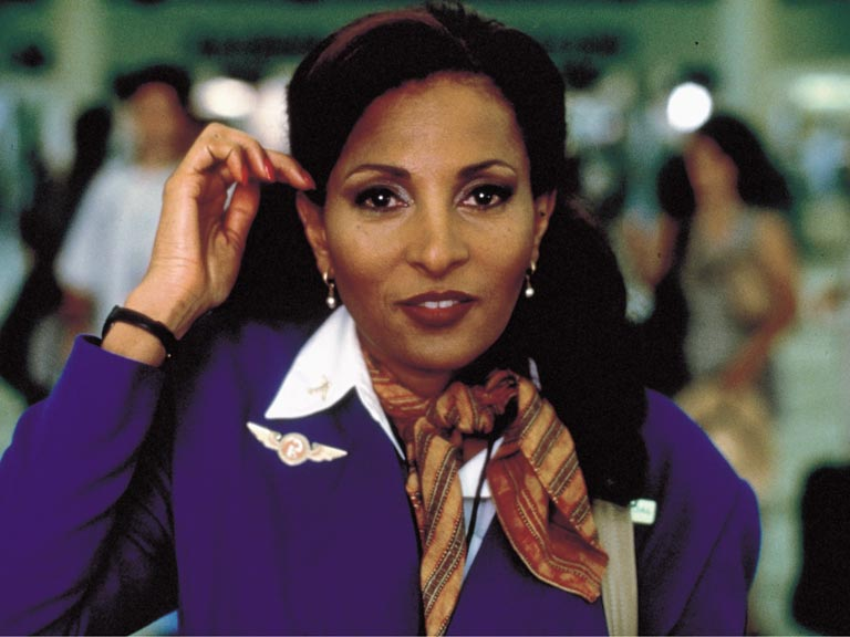 Pam Grier in Jackie Brown. Photo by Snap Stills/REX/Shutterstock © 1997 Rex Features. No use without permission.