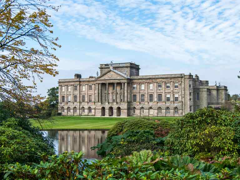 Lyme Park, the filming location of BBC's Pride and Prejudice