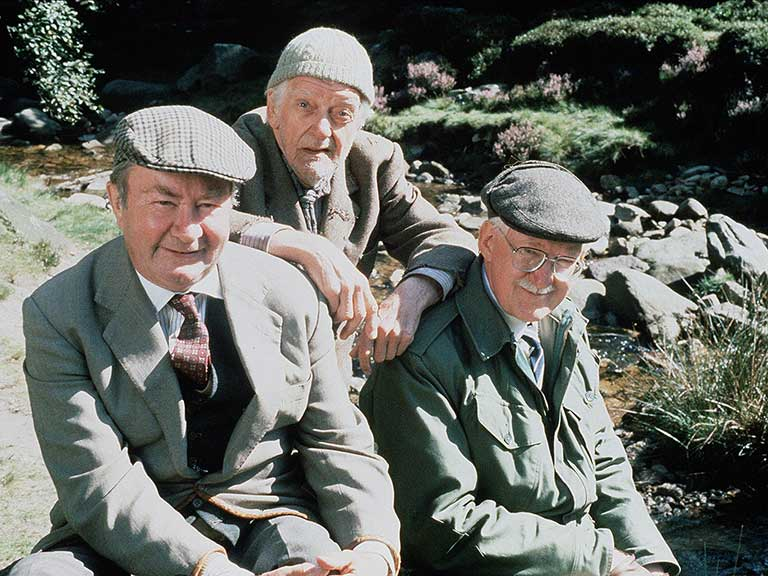 Cast of Last of the Summer Wine, Clegg, Compo and Foggy