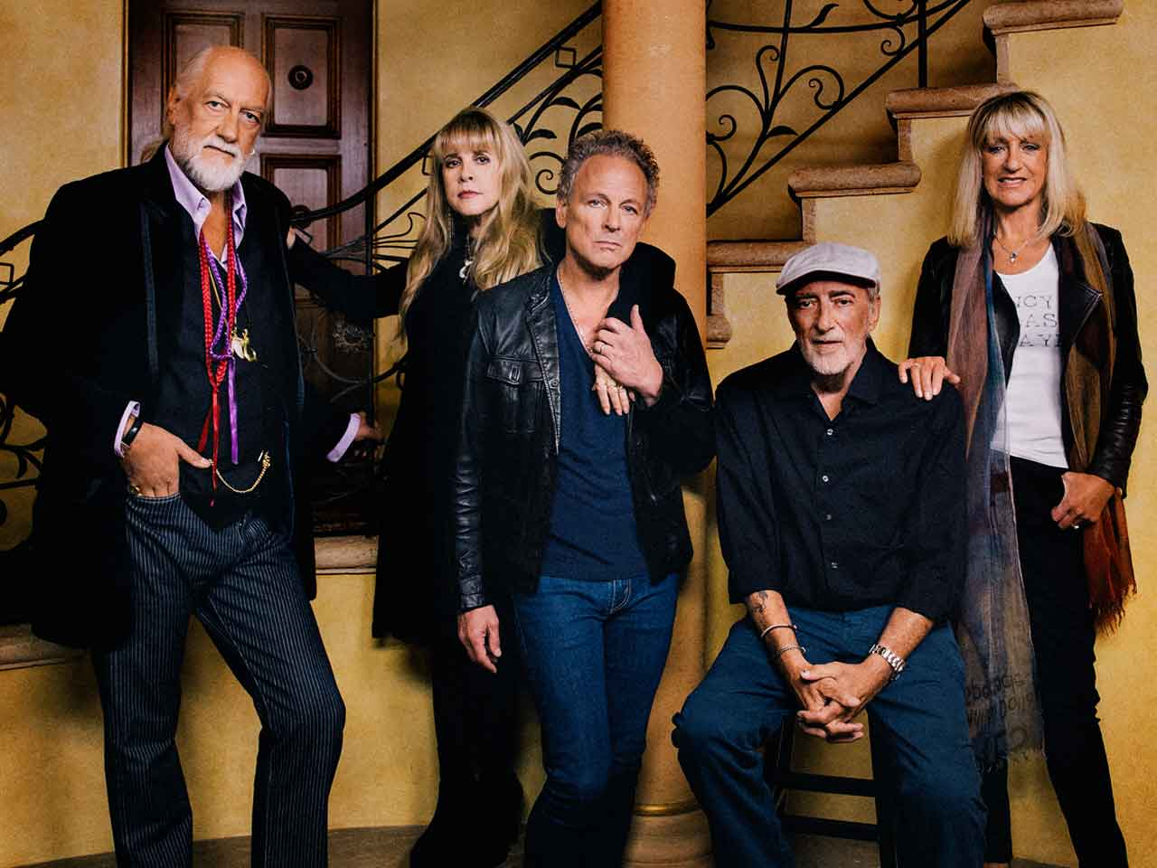 A portrait of the band Fleetwood Mac