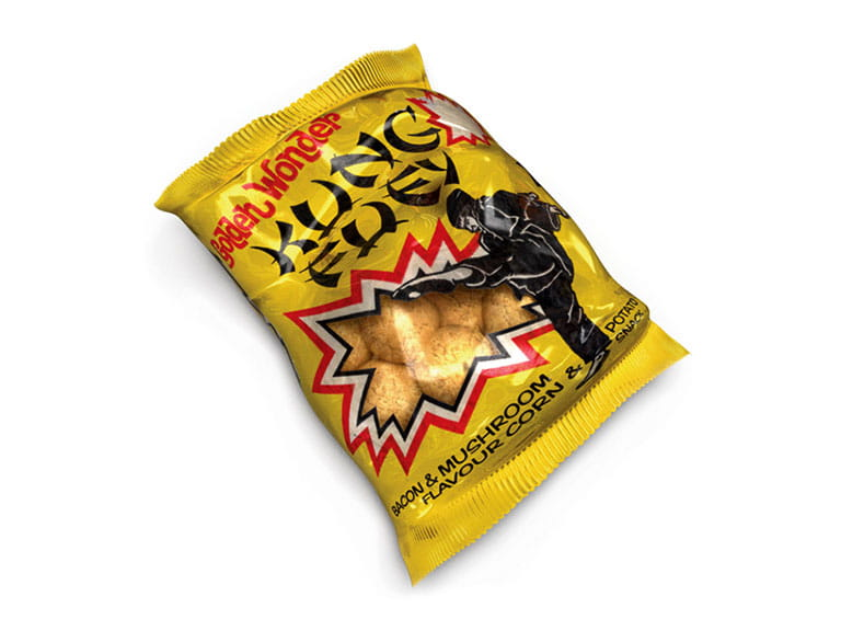Golden Wonder Kung Fuey crisps