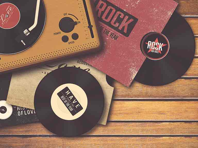 Pop and rock records